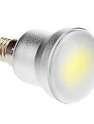 5W E14 Lâmpada Redonda LED 1 COB 280-320 lm Branco Frio AC 85-265 V