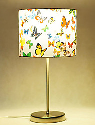 Table Lamps, 1 Light, Artistic Stainless Steel Fabric Painting