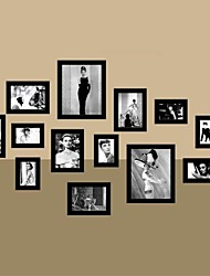 Black Photo Wall Frame Collection Set of 13
