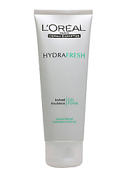 Loreal Hydrafresh Instant Freshness Gel Foam (Combination to oily skin) 100ml / 3.4oz