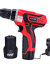 12V Multifunctional Household Electric Drill(2 Battery And 1 Charger)