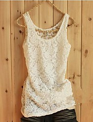 Women's Wire Mesh Lace Small Vest
