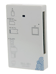 Alles-in-1 High Speed Memory Card Reader (White)