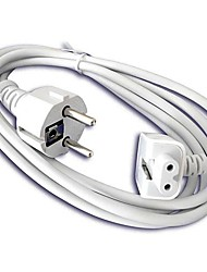 EU Power Extension Cable for Apple  MacBook 45W / 60W / 85W AC Adapter