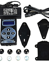 Dragonhawk® Hurricane Digital Tattoo Machine Tattoo Power Supply Kit Pro