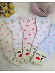 De los niños del bordado calcetines 5 pares