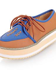 Leatherette Women's Platform Heel Platform Fashion Sneakers Shoes(More Colors)