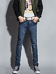Herren Blau Slim Jeans
