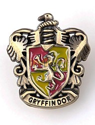 harry potter logotipo gryffindor broche liga de unisex