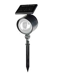 4LED blanc Solaire Spot LED rechargeable en plastique de jardin (CSS-58090)