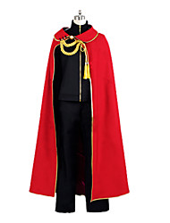 Inspired by Noragami Yato Anime Cosplay Costumes Cosplay Suits Patchwork Black / Red Cloak / Coat / Pants