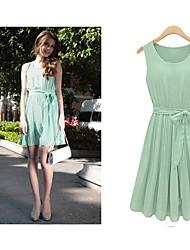Women's Dresses , Chiffon/Pearl Casual/Work Lizi