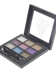 9 Couleur Pearly-lustre Eye Shadow (de N ° 1 couleur)