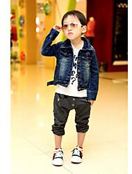 Boy's Denim Jacket & Coat , All Seasons Long Sleeve