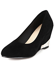 Suede Women's Wedge Heel Wedges Pumps/Heels Shoes(More Colors)