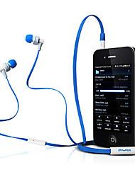 ES700i-awei Super Bass in-ear oortelefoon met microfoon en afstandsbediening voor Mobilephone/PC/MP3