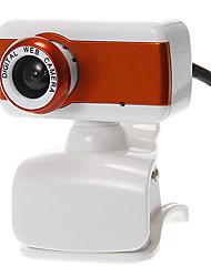 A forma di rettangolo Desktop 8 Megapixel Webcam con microfono