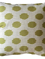 Sage Green Flash Oval Stripes Decorative Pillow Cover