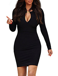 Women's Dresses , Cotton/Others/Spandex Missmay