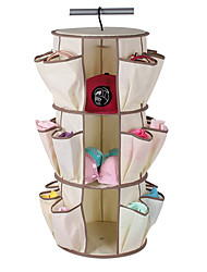 3 Layers High Quality Rotary Type Shoes Storage Racks