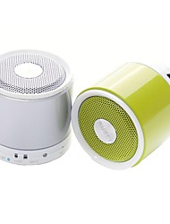 KUBEI 288i Mini V2.1 Portable Speaker TF/MIC- Bluetooth (Plata / Verde)