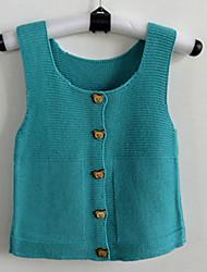 Girl's Cotton Sweater & Cardigan , Winter Sleeveless