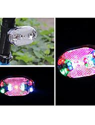 Luzes de Bicicleta / Luz Traseira Para Bicicleta LED Ciclismo pilhas Lumens Bateria Ciclismo-Iluminação