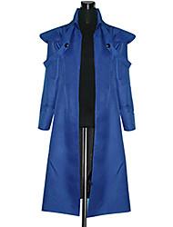 Inspiriert von Attack on Titan Eren Jager Anime Cosplay Kostüme Cosplay Kostüme Patchwork Blau Lange Ärmel Mantel
