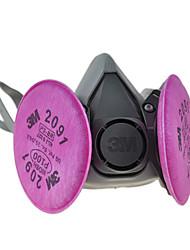 3M P100 PM2.5 Carvão Ativado Respirador
