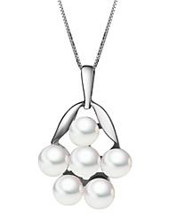 925 Silver Pearl Necklace Crépuscule années des femmes