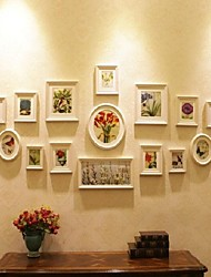 Weiß Foto Wall Frame Collection Set 19
