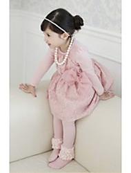 Fleur Mesh bowknot robes de fille