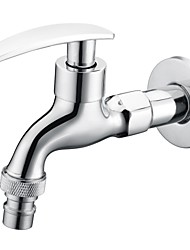 Faucet Accessory Contemporary Chrome Finish Brass Valve