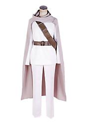 Gintama Uniform Pano Branco Cosplay