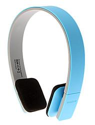 casque bluetooth 3.0 sur l'oreille sport contrôle de volume stéréo salut-fi pour l'iphone / android (bleu)