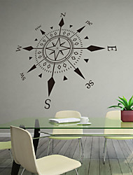 Military Compass Decorative Wall Stickers