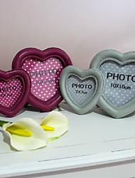 Double Heart Photo Frame (More Colors)