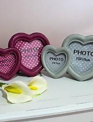 Double Heart Photo Frame (plus de couleurs)