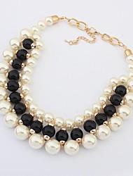 europa e stati uniti RAYLI moda collana di perle imitazione