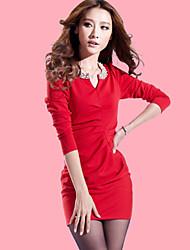 Women's Dresses , Organic Cotton Casual YKR