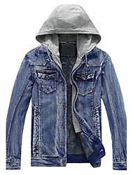 splicing moda e lana cowboy giacca uomo