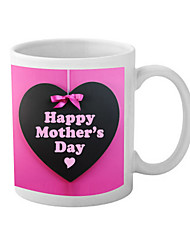 """""""Le jour de mère heureux"""" Tasse en céramique"""