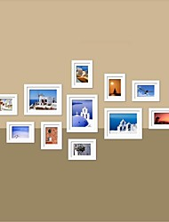 White Photo Wall Frame Collection Set of 11