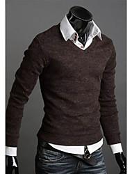Men's Korean V-Neck Slim Sweater