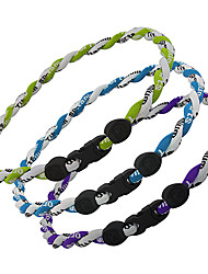 Health Caring Classic Multicolor Fabric Power Necklace(Purple) (1 Pc)