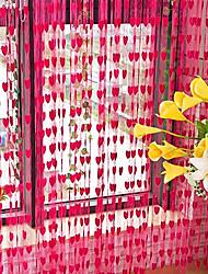 """Wenig Lovely Hearts Vorhang Line - drei Farben erhältlich (39 """"W x 78"""" L)"""