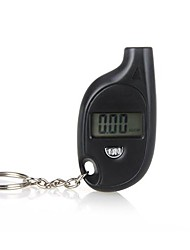 Mini Portable Digital LCD Tire Tyre Wheel Air Pressure Gauge Tester Keychain For Car