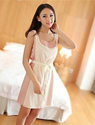 Mousseline de soie contraste COCO femmes robe couleur