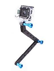 ЧПУ Алюминиевый вооружениями и Винт для GoPro HD Hero3 (синий винт)