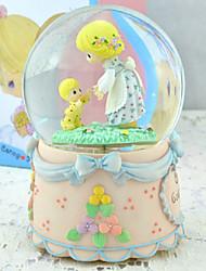 """""""De liefde tussen moeder en zoon"""" Water Globe Glitterdome voor Moederdag"""